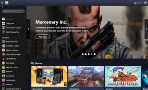 paly facebbok games in gameroom