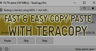 copy paste teracopy