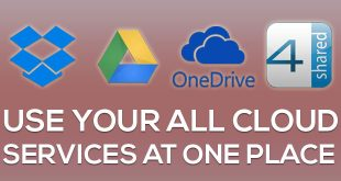 use all free cloud storage together