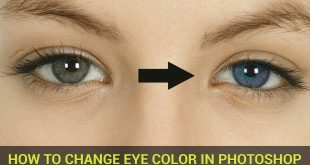 how to change eye color in adobe photoshop